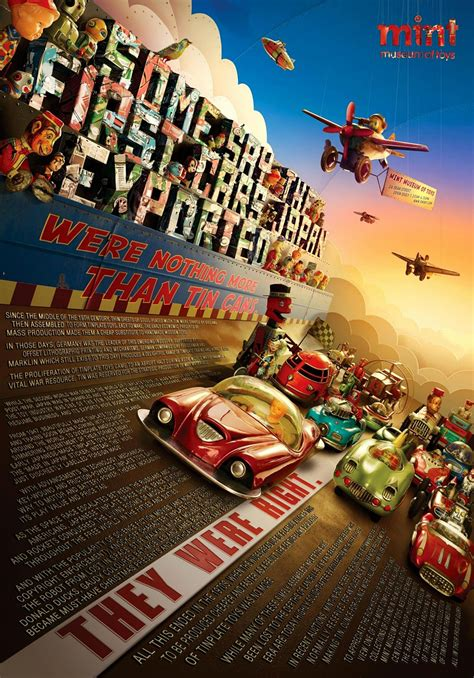 Mint Museum of Toys Print Advert By Y&R: Tin Toys | Ads of