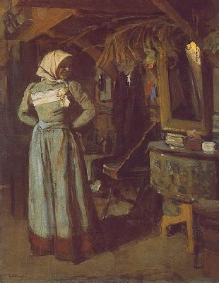 Young Woman In The Atelier by Janos Tornyai (1869-1936