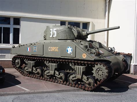 File:M4A2 Sherman tank in the Musée des Blindés, France