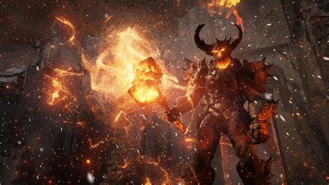 Wallpaper Unreal Engine 4, free game engine, demon face