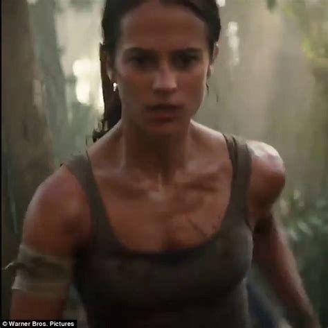 Alicia Vikander is Lara Croft in new Tomb Raider trailer
