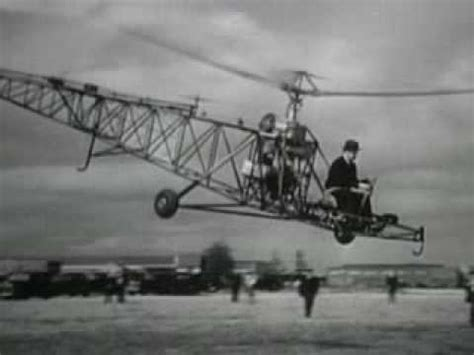 The First Helicopter - YouTube