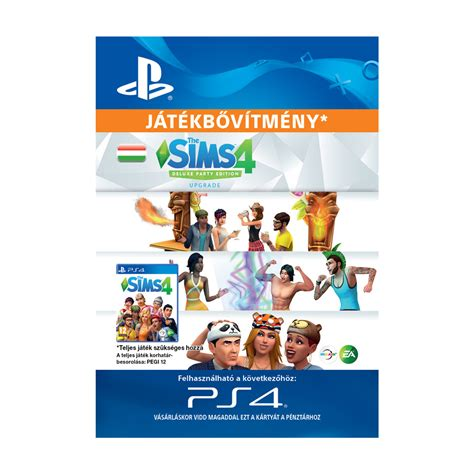 The Sims™ 4 Deluxe Party Edition Upgrade - ESD HUN