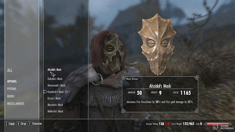 Hoodless Dragon Priest Masks - With Dragonborn Support for