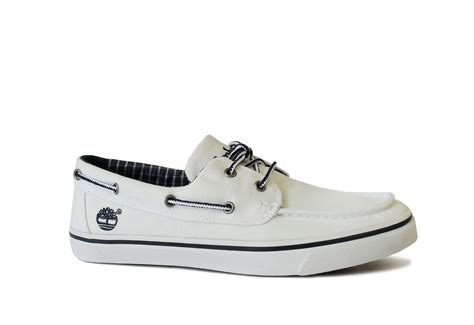 Timberland Cipő - Boatox - 6538R-wht - Office Shoes
