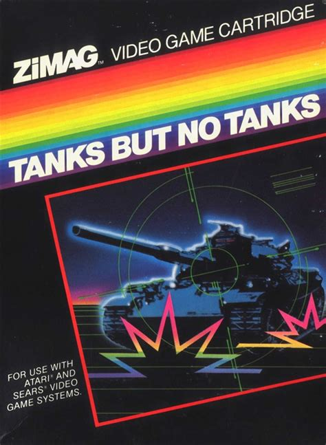 Atari 2600 VCS Tanks But No Tanks : scans, dump, download