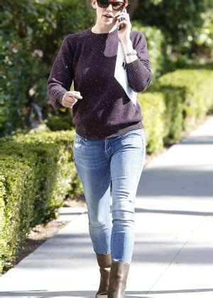 Jennifer Garner in Tight Jeans Out and about in Brentwood