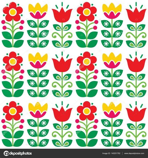 illustration-swedish-floral-retro-pattern-traditional
