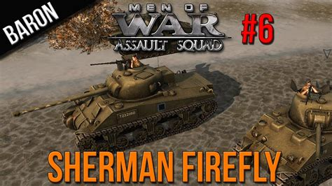 Men of War Assault Squad Gameplay - Sherman Firefly (Feat