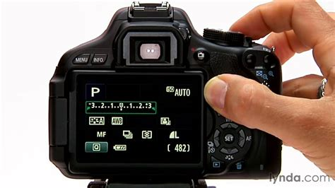 Canon Rebel tutorial: How to use exposure compensation