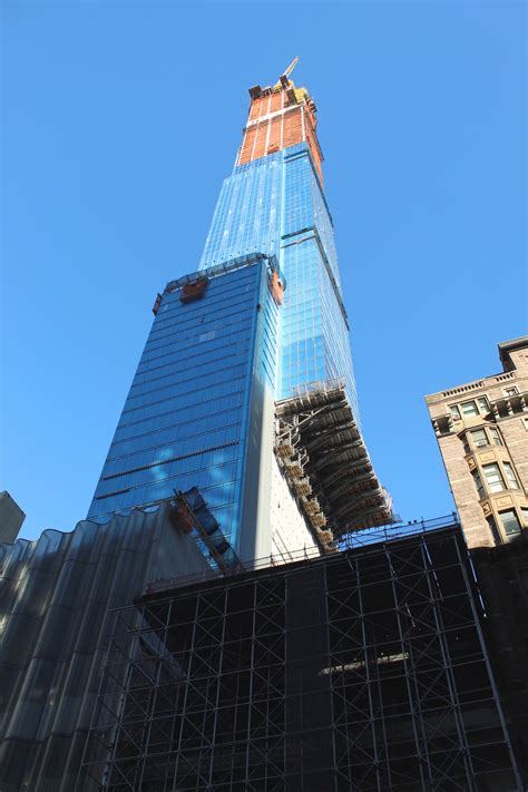 Central Park Tower Approaches 1,550-Foot Pinnacle, Nears