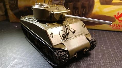 "ASUKA (Tasca) Sherman M4A3E2 ""JUMBO"" #35-021 Build-Up"