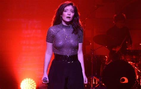 Lorde teases 'the favourite song she's ever done' - NME