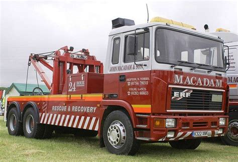ERF - - RESCUE & RECOVERY *MACADAM * | Tow truck