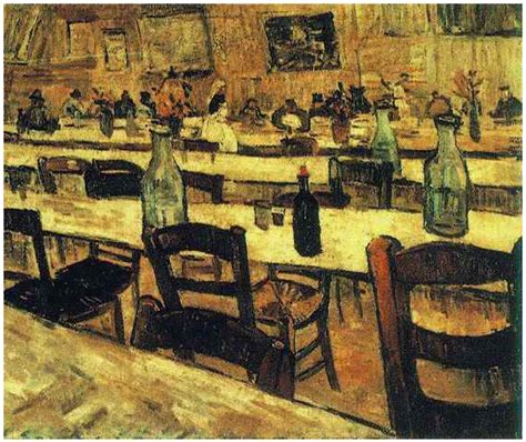 Interior of a Restaurant in Arles by Vincent Van Gogh - 241
