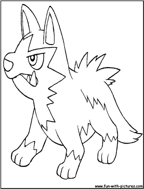 Pokemon Poochyena Coloring Pages at GetColorings