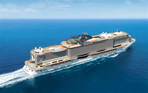 MSC Seaview Cruise Ship Floated Out In Italy | Talking Cruise