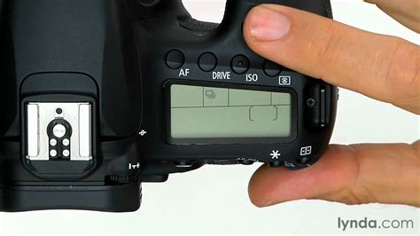 Canon 60D tutorial: Shooting with the drive mode | lynda